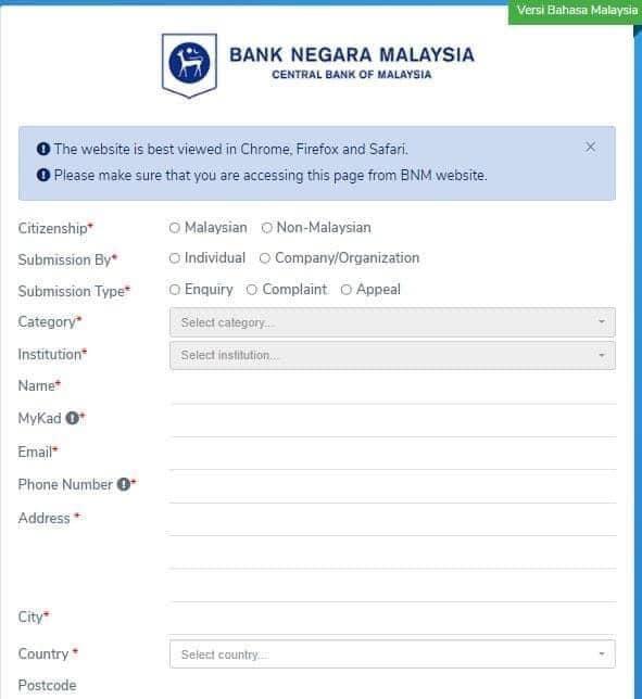 ccris online bnm